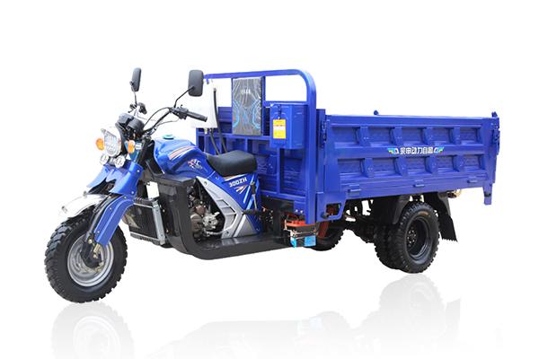 宗申劲战双顶五轮自卸摩托车(蓝色)